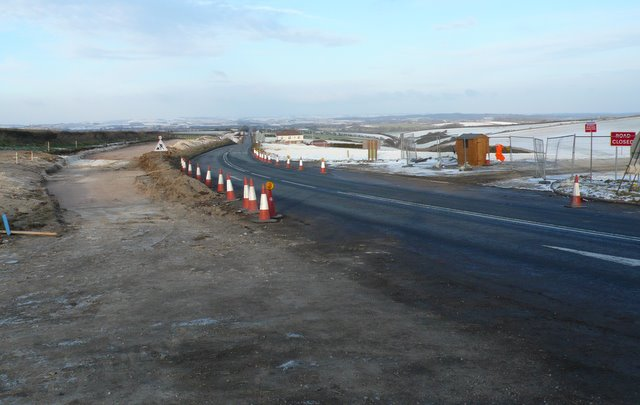 The A357 Ridgeway Hill