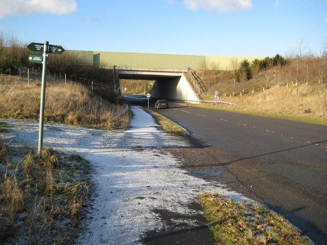 A34 Newbury Bypass bridge