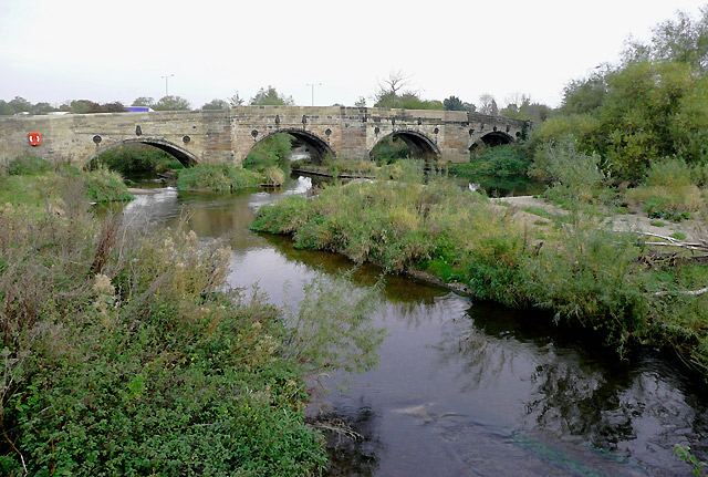 Bridge over the River Dove, near Burton-on-Trent