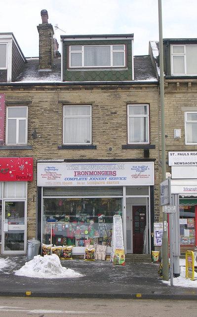 Tim Rowbotham Ironmongers - Bradford Road