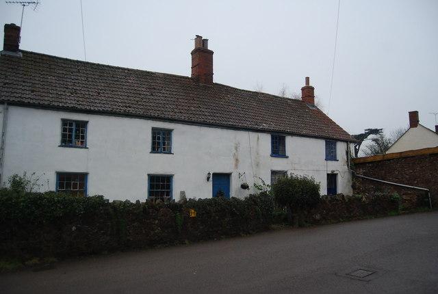 Whitewashed Cottages, Crowcombe