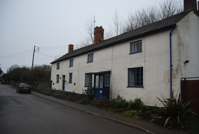 Terraced Cottages, Crowcombe
