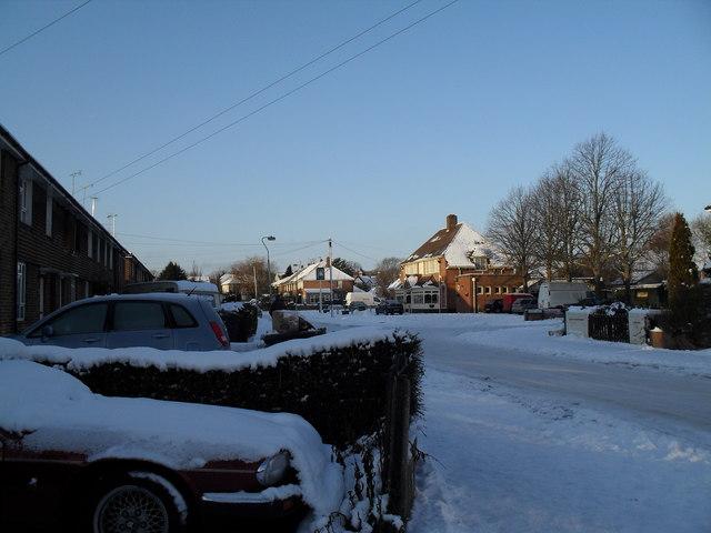 A snowy Jessie Road