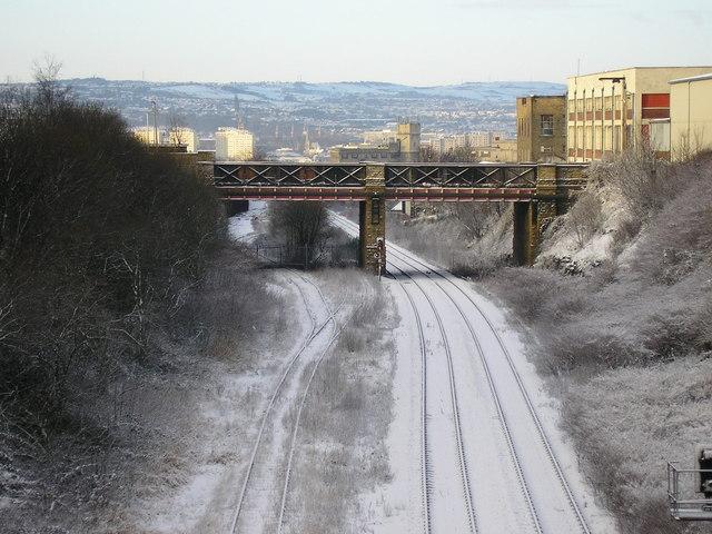 Leeds to Bradford Railway Line