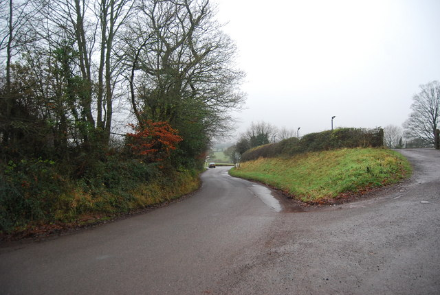Road down to the A358, Crowcombe