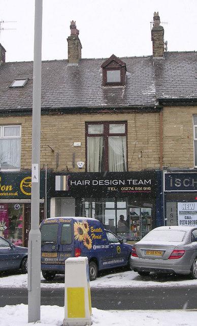 Hair Design Team - Kirkgate - in a snowstorm
