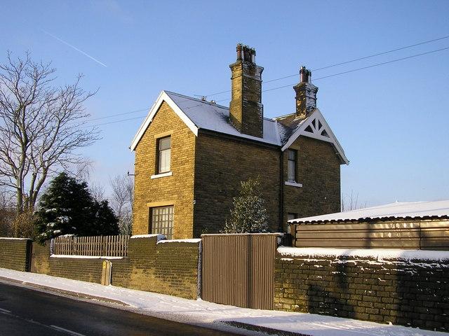 The former Laisterdyke Station House, New Lane, Bradford