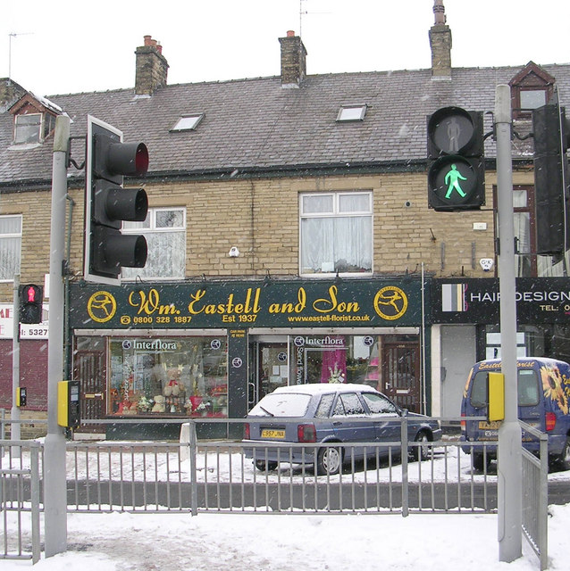 Wm Eastell & Son - Kirkgate - in a snowstorm