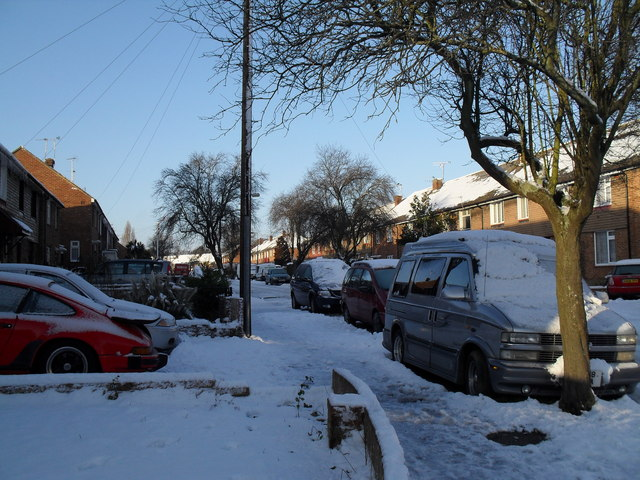 Looking from Ernest Road into St John's Road