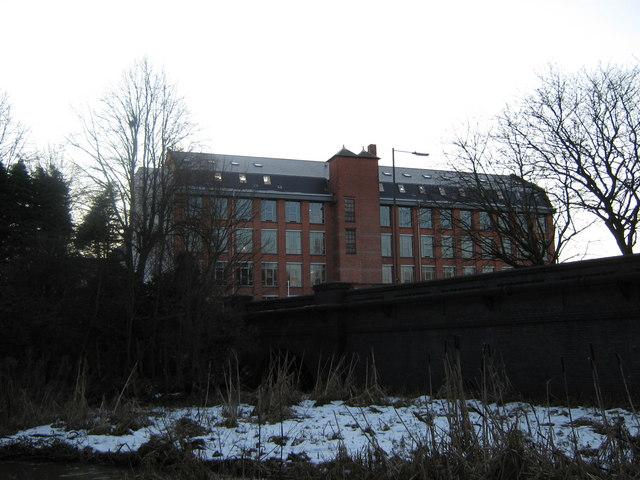 University of Derby's Britannia Mill, Mackworth Road, Derby
