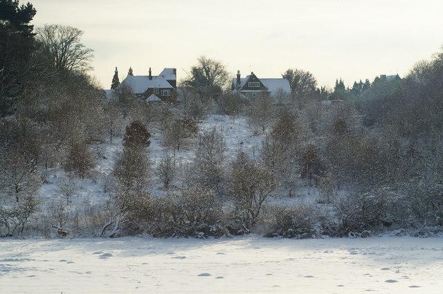 View Towards Rockshaw Lane, Merstham, Surrey