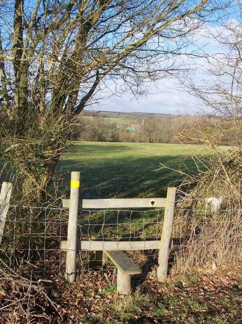 Stile near Hayden Wood