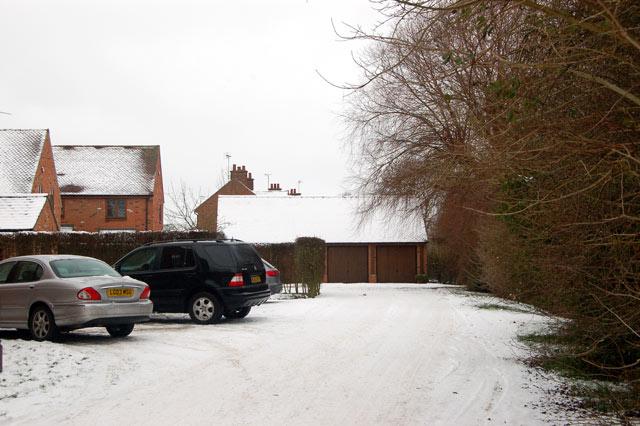 Snow at Croftlands, Broadwell