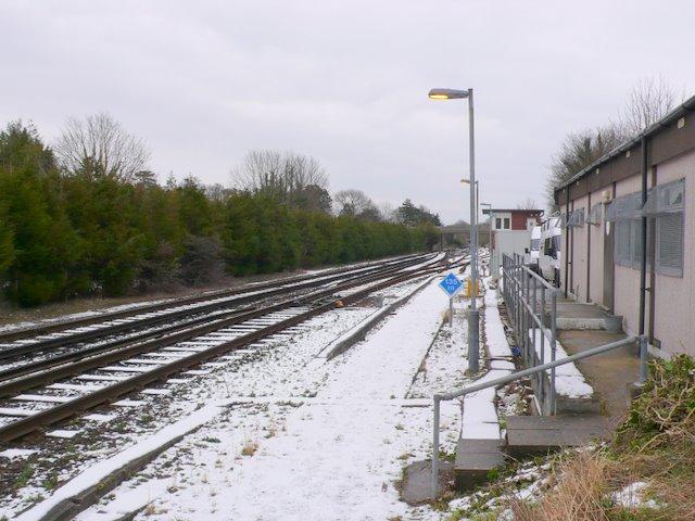 Dorchester to Bournemouth Railway Line