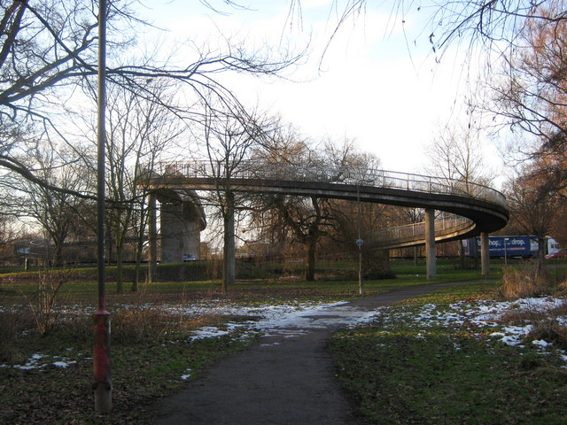 Bridge over A38, Derby