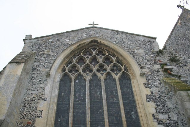 Cross on the chapel