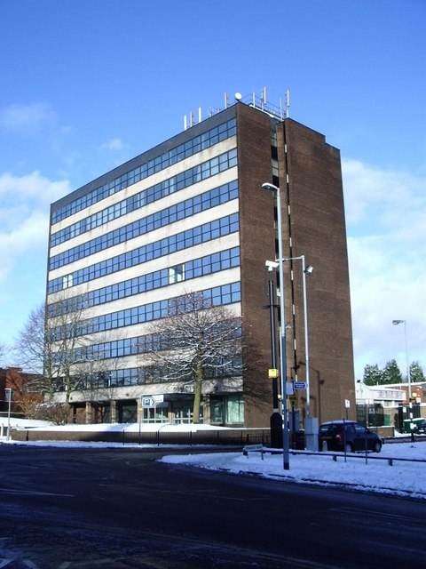 Birmingham City Council Offices, Orphanage Road