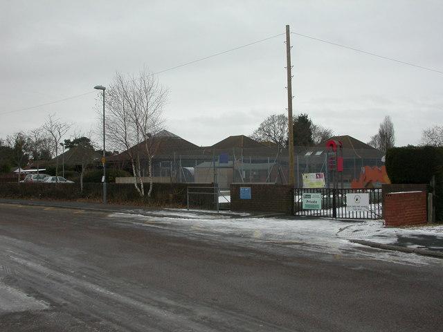 West Moors, first school