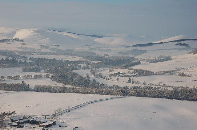 Tweeddale in winter