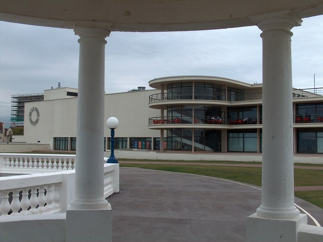 View of the De La Warr Pavilion, Bexhill