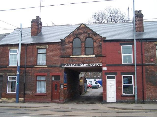Coach Entrance, Holme Lane, Hillsborough, Sheffield