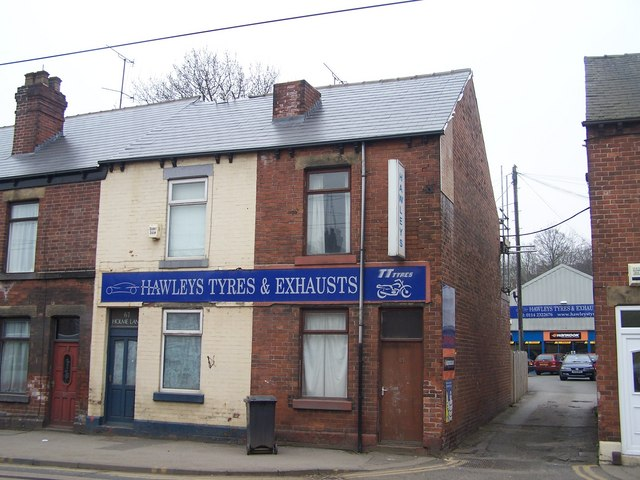 Hawleys Tyres and Exhausts, Holme Lane, Hillsborough, Sheffield