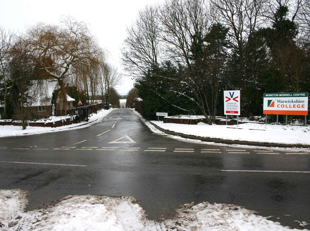 Entrance to Moreton Morrell Centre