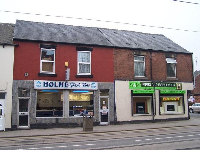 Fries and Fires, Holme Lane, Hillsborough, Sheffield