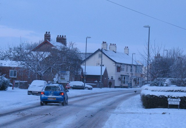 Snowy morning, Topcliffe