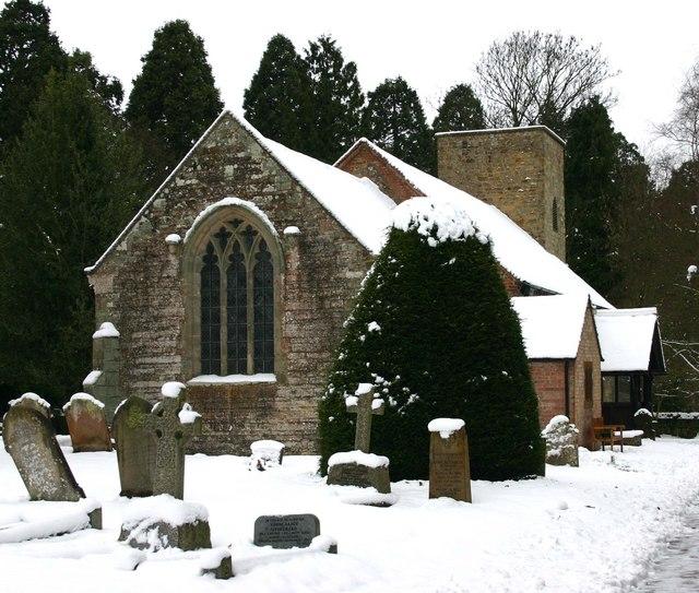 Church of the Holy Cross, Moreton Morrell