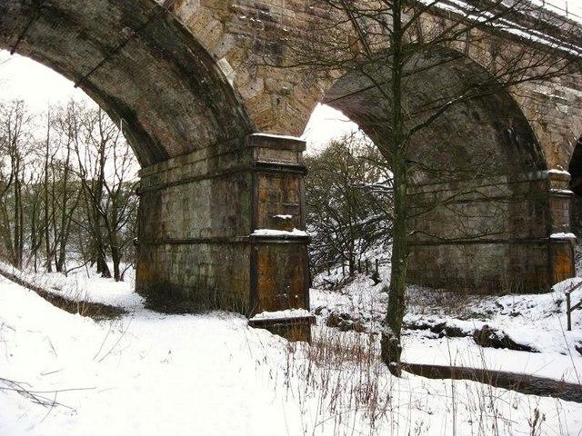Railway Bridge at Garngibboch