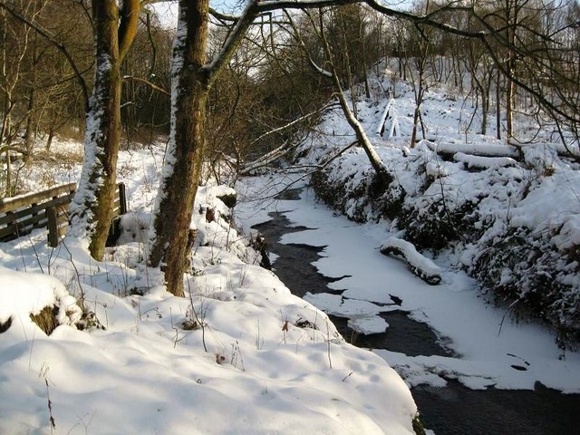 The Luggie In Midwinter