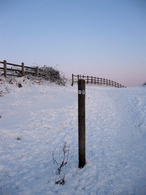 Bridleway to Round Hill