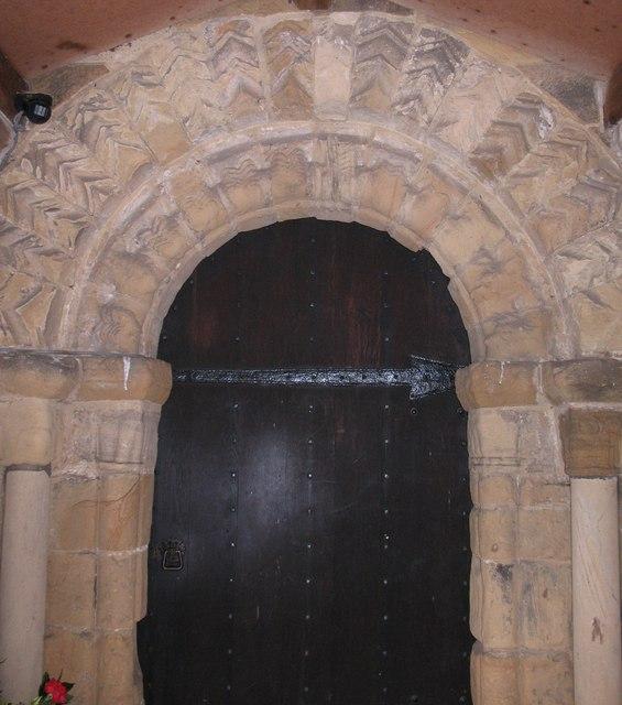 St Peter's, south doorway