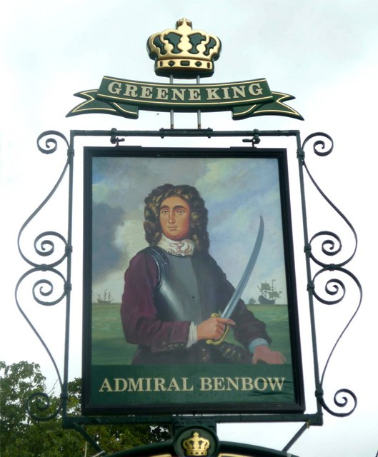 Admiral Benbow pub sign