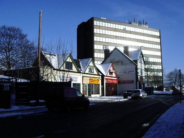 Shops and offices, Edwards Road, Erdington