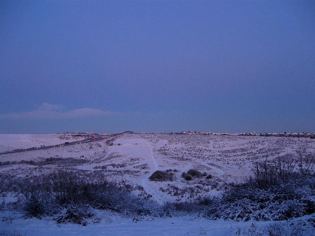 Toads Hole Valley at Dusk