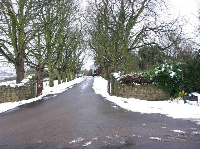 Entrance to Bromson Hill Nursing Home