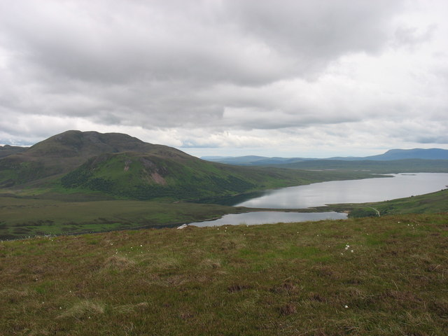 Upper slopes of Cnoc Craggie