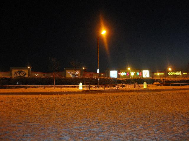Goldstone Retail Park