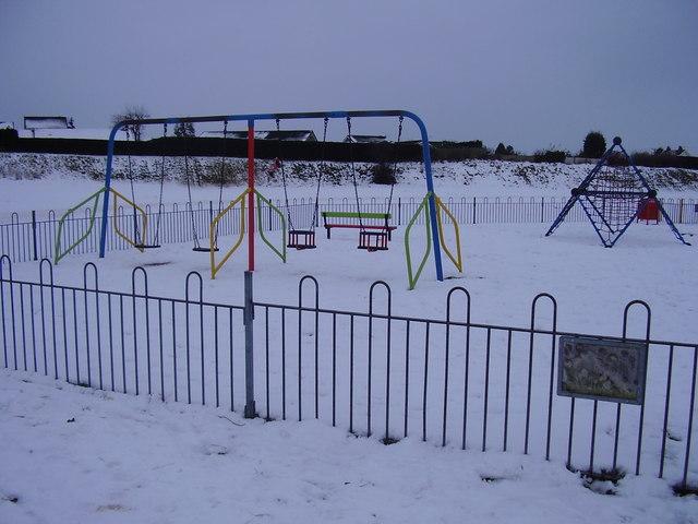 Swings at quarry park