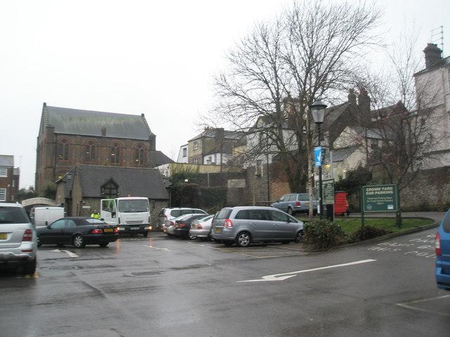 Crown Yard Car Park