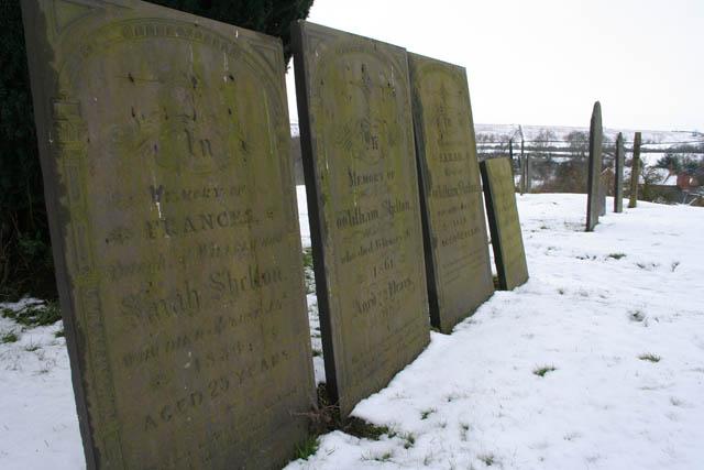 Shelton family graves, St Denys' Church
