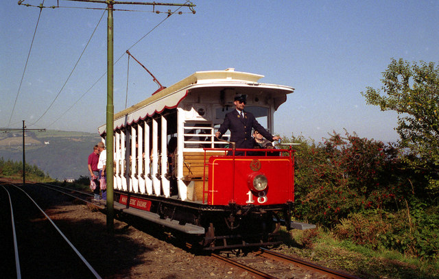 Manx Electric Railway, the scenic line