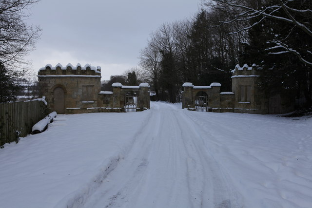 Gatehouse and Entrance to Howsham Hall