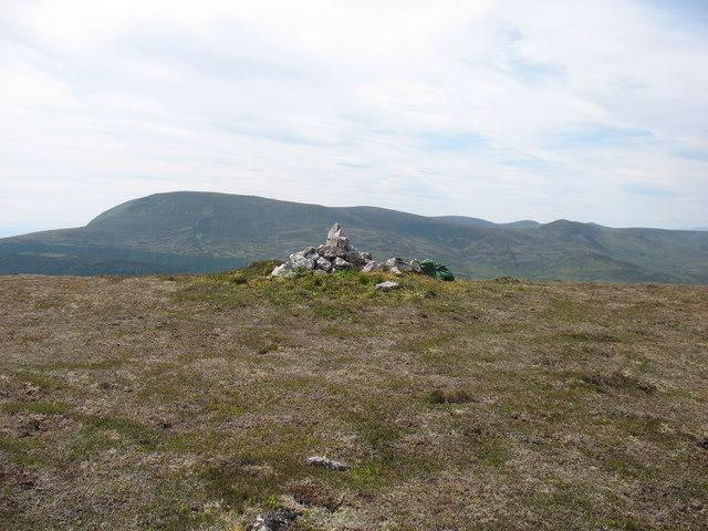 Beinn Dubhain summit