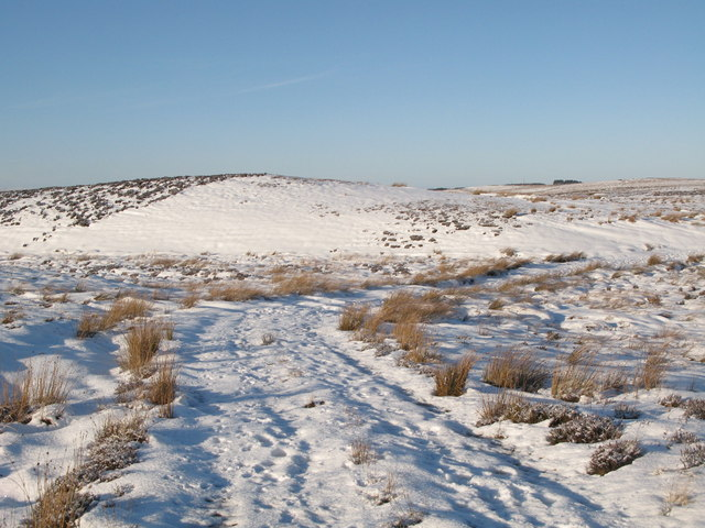 Snow covered Foumart Hills