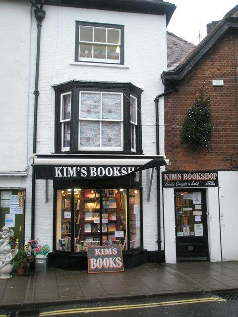 Bookshop at the bottom of Arundel High Street