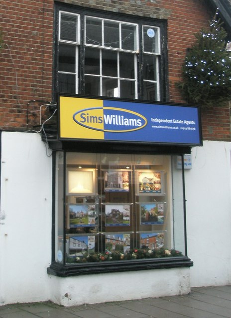 Sims Williams at the bottom of Arundel High Street