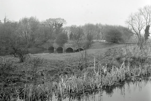 Aqueduct over the River Sow, 1961